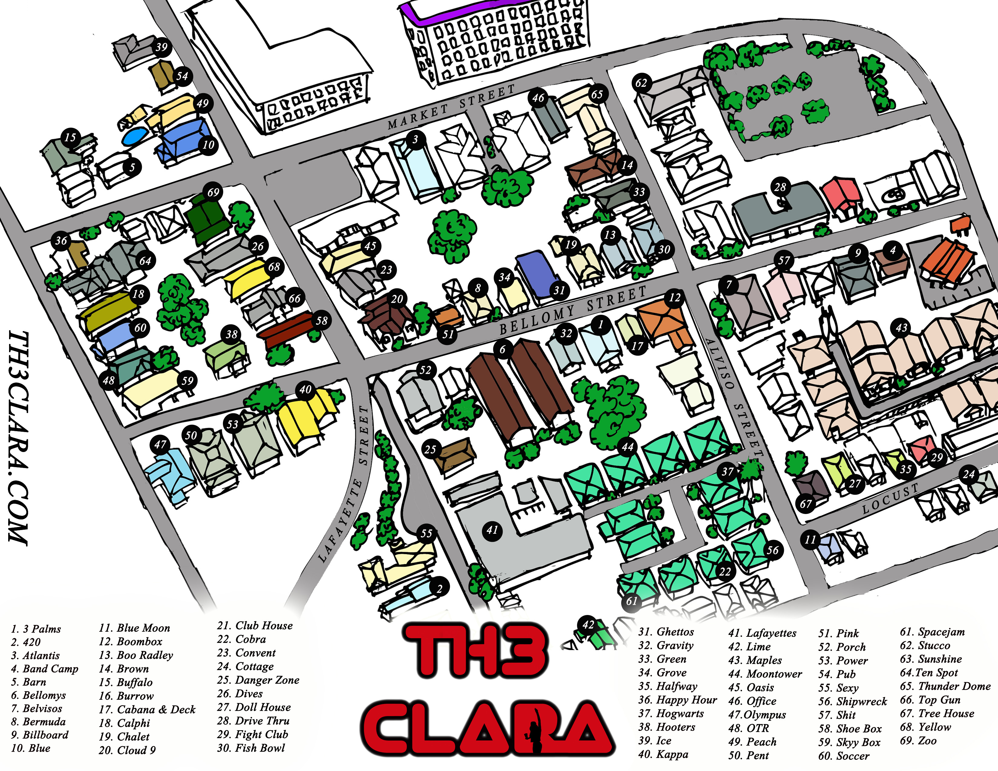 Party Map Is Here Th3clara